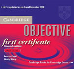 Objective First Certificate Audio CD Set (3 CDs) - Annette Capel