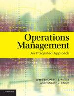Operations Management : An Integrated Approach - Danny Samson