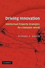 Driving Innovation : Intellectual Property Strategies for a Dynamic World - Michael A. Gollin