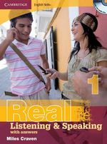 Cambridge English Skills Real Listening and Speaking 1 with Answers and Audio CD : Level 1 - Miles Craven
