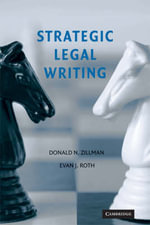 Strategic Legal Writing - Donald N. Zillman