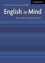 English in Mind Level 5 Teacher's Resource Pack :  Teacher's Resource Pack - Sarah Ackroyd