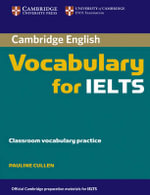 Cambridge Vocabulary for IELTS without Answers - Pauline Cullen