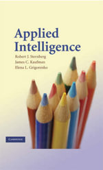 Applied Intelligence - Robert J. Sternberg