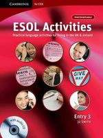 ESOL Activities Entry 3 : With Audio CD-ROM - Jo Smith