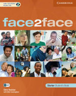 Face2face Starter Student's Book [With CDROM and CD (Audio)] - Chris Redston