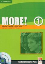 More! Level 1 Teacher's Resource Pack : With Testbuilder CD-ROM / Audio CD - Herbert Puchta