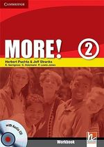 More! Level 2 Workbook with Audio CD : Level 2 - Herbert Puchta