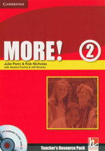 More! Level 2 Teacher's Resource Pack : With Testbuilder CD-ROM / Audio CD - Rob Nicholas