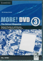 More! Level 3 DVD (PAL/NTSC) : The School Magazine - Herbert Puchta