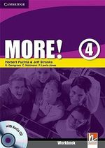 More! Level 4 Workbook with Audio CD : More! - Herbert Puchta