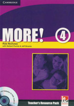 More! Level 4 Teacher's Resource Pack : With Testbuilder CD-ROM / Audio CD - Rob Nicholas