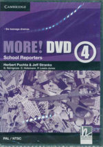 More! Level 4 DVD (PAL/NTSC) : School Reporters - Herbert Puchta