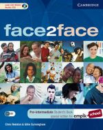Face2face Pre-intermediate Student's Book with CD-ROM/Audio CD EMPIK Polish Edition - Chris Redston