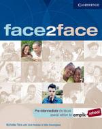 Face2face Pre-intermediate Workbook with Key EMPIK Polish Edition - Nick Tims