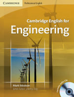 Cambridge English for Engineering [With 2 Audio CD-ROMs] : Cambridge Professional English - Mark Ibbotson
