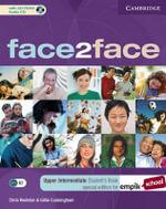 Face2face Upper Intermediate Student's Book with CD-ROM/Audio CD EMPIK Polish Edition - Chris Redston
