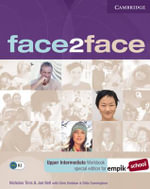 Face2face Upper Intermediate Workbook with Key EMPIK Polish Edition - Chris Redston