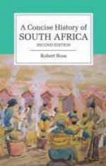 A Concise History of South Africa : The Cambridge Concise Histories Series - Robert Ross