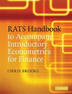 RATS Handbook to Accompany Introductory Econometrics for Finance - Chris Brooks