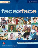 Face2face Pre-intermediate Student's Book with CD-ROM / Audio CD, Workbook and Introduction Booklet Pack Italian Edition : Pre-intermediate - Chris Redston