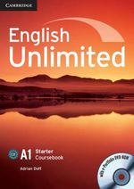 English Unlimited Starter Coursebook with e-Portfolio : A1 Starter Teacher's Pack [With DVD ROM] - Adrian Doff