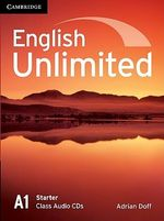 English Unlimited Starter Class Audio CDs (2) - Adrian Doff