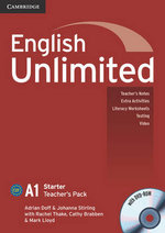 English Unlimited Starter Teacher's Pack (Teacher's Book with DVD-ROM) : A1 Starter Teacher's Pack [With DVD ROM] - Adrian Doff