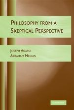 Philosophy from a Skeptical Perspective - Joseph Agassi