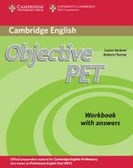 Objective PET Workbook with Answers - Louise Hashemi