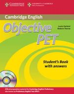 Objective PET Self-Study Pack Student's Book with Answers with CD-ROM and Audio CDs(3)) : Student's Book with Answers [With CDROM and 2 Audio CDs] - Louise Hashemi