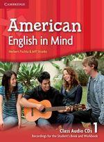 American English in Mind Level 1 Class Audio Cds (3) - Herbert Puchta