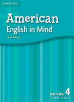 American English in Mind Level 4 Testmaker Audio CD and CD-ROM - Sarah Ackroyd