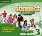 Connect Level 3 Class Audio CDs (3) : Level 3 - Jack C. Richards
