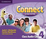 Connect Level 4 Class Audio CDs (3) : Level 4 - Jack C. Richards