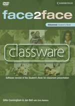 Face2face Advanced Classware : Software Version of the Student's Book for Classroom Presentation - Chris Redston