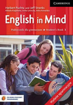English in Mind Level 1 Student's Book with Exam Sections and CD-ROM Polish Exam Edition : Level 1 - Herbert Puchta