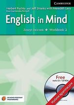 English in Mind Level 2 Workbook with Audio CD/CD-ROM Polish Exam Edition : Level 2 - Herbert Puchta