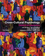Cross-Cultural Psychology : Research and Applications 3rd Edition - John W. Berry