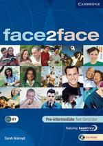 Face2face Pre-intermediate Test Generator CD-ROM : Face2face - Sarah Ackroyd