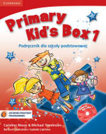 Primary Kid's Box Level 1 Pupil's Book with Songs CD and Parents' Guide Polish Edition : Level 1 - Caroline Nixon