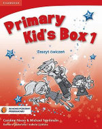 Primary Kid's Box Level 1 Activity Book with CD-ROM Polish Edition : Level 1 - Caroline Nixon