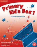 Primary Kid's Box Level 1 Teacher's Book with Audio CD Polish Edition : Level 1 - Melanie Williams