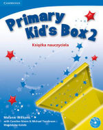 Primary Kid's Box Level 2 Teacher's Book with Audio CD Polish Edition - Melanie Williams