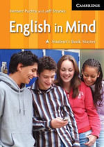 English in Mind Starter Student's Book - Herbert Puchta