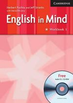 English in Mind : Workbook 1 : Includes Audio CD/CD ROM - Herbert Puchta