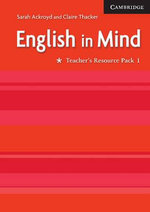 English in Mind : Teacher's Resource Pack 1 - Sarah Ackroyd