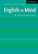 English in Mind 2 Teacher's Resource Pack : Teacher's Resource Pack 2 - Sarah Ackroyd