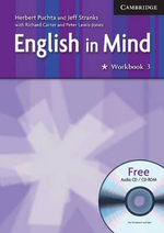 English in Mind : Workbook 3 : Includes Audio CD/CD ROM - Herbert Puchta