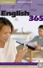 English365 2 Personal Study Book with Audio CD : Personal Study Book 2 With Audio CD - Bob Dignen